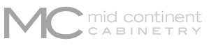 Kitchen and Bathroom Cabinets in Denver | Kitchen Design | Mid continent logo